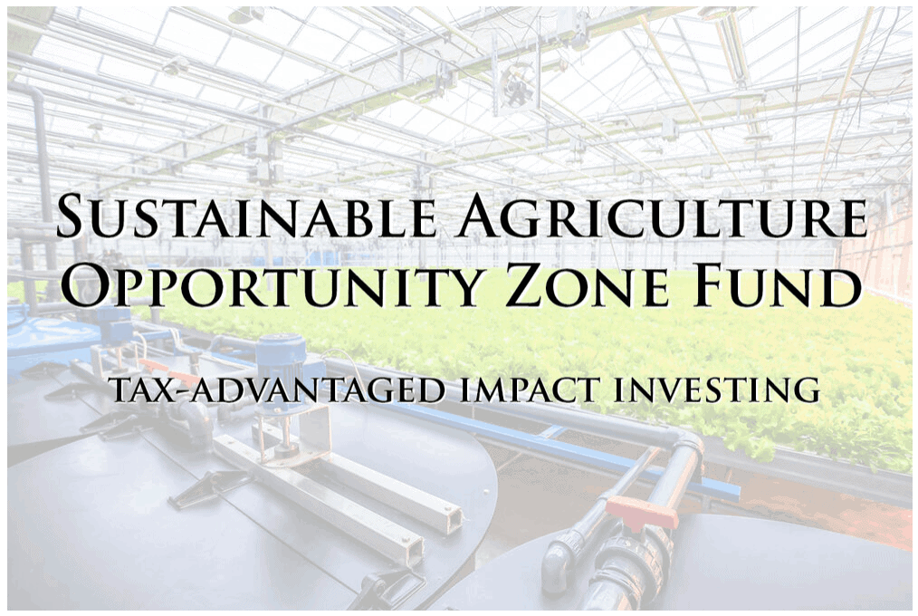Harvest Returns Opportunity Zone Fund
