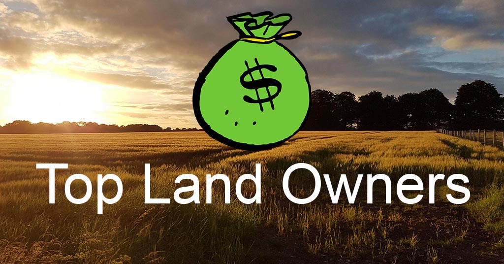 Largest private land owners in the United States