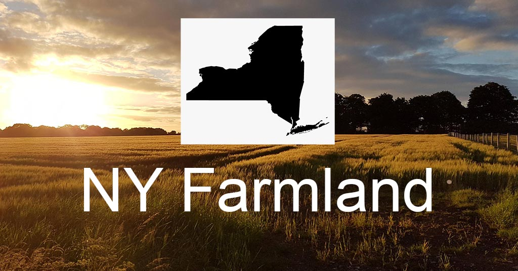 How to buy farmland in New York