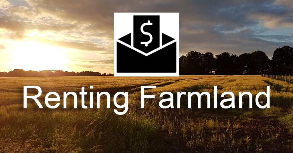 How does farmland renting work
